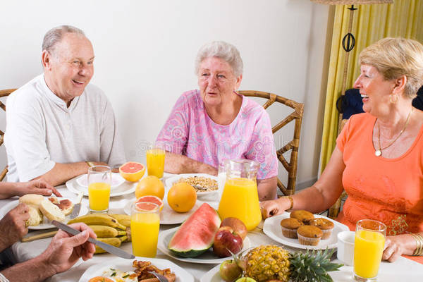 alimentation du senior